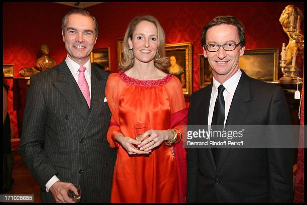 Duc and Duchesse Philipp De Wurttemberg Thaddaeus Ropac at Dinner Held In Honour Of Princesse De Beauvau Craon The Presidente In Honour Of Sotheby's...