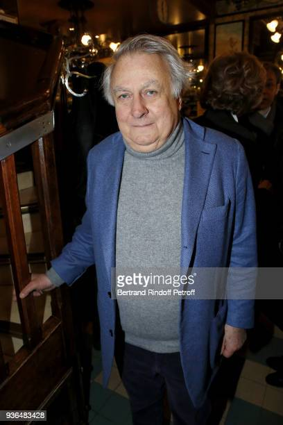 Duc de Noailles attends the 83rd Prix Cazes de la Brasserie Lipp Literary Prize at Brasserie Lipp on March 22 2018 in Paris France