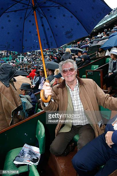 Duc Jacques d'Orleans attends Day Twelve of the 2016 French Tennis Open at Roland Garros on June 2 2016 in Paris France