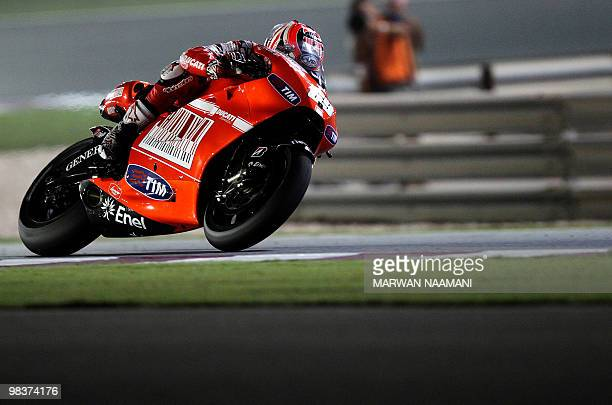Ducati Marlboro Team's Nicky Hayden of t Pictures | Getty Images