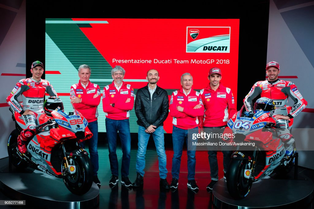 Presentation of the Ducati MotoGP team season 2018