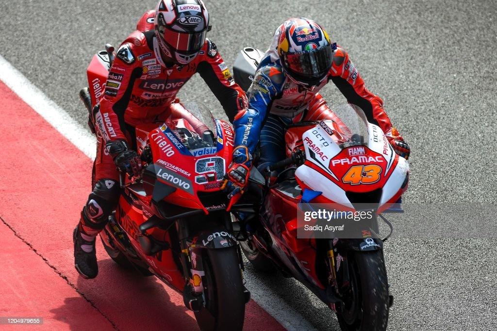 MotoGP Testing : News Photo