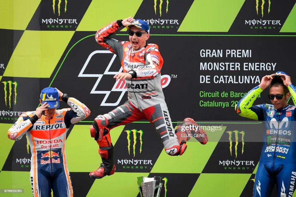 TOPSHOT-MOTO-PRIX-ESP-GP : News Photo