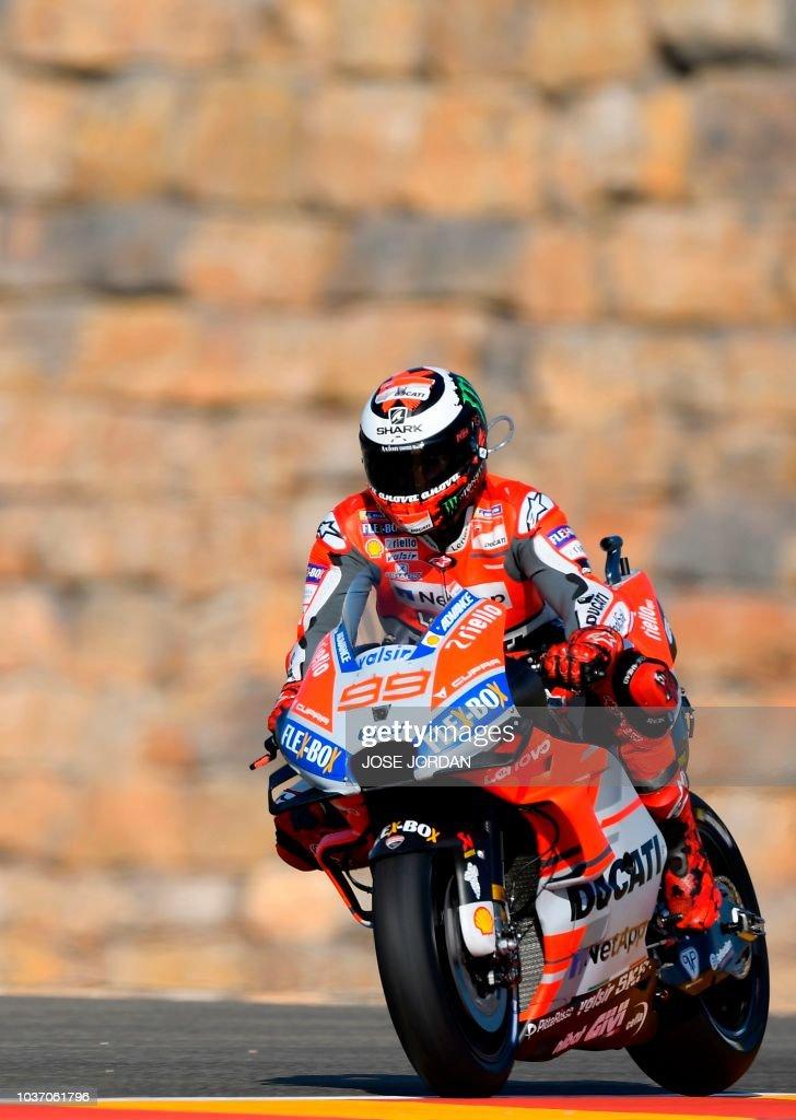 MotoGP of Aragon - Free Practice