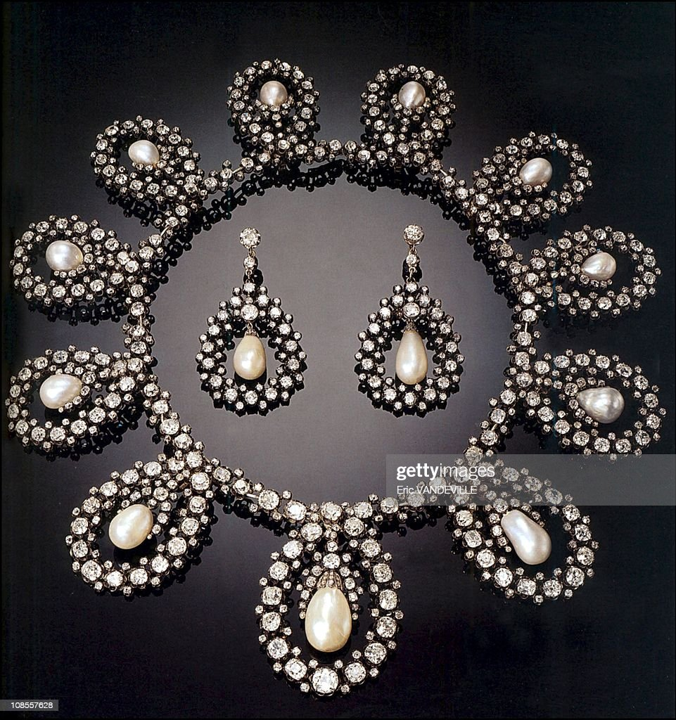 The royal family of Savoy demand that the Italian state give them back their family jewels kept in a safe at the Bank of Italy ever since 1946 in Italy in December, 2002. : News Photo