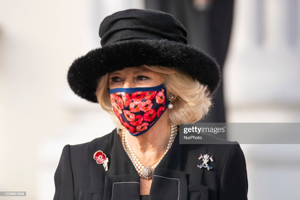 Prince Charles And Camilla Visit Berlin On National Day of Mourning : News Photo