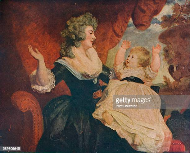 Duchess of Devonshire and Child', c1786. Painting held at Chatsworth House. From The British Genius, by Haldane MacFall. [T. C. And E. C. Jack,...