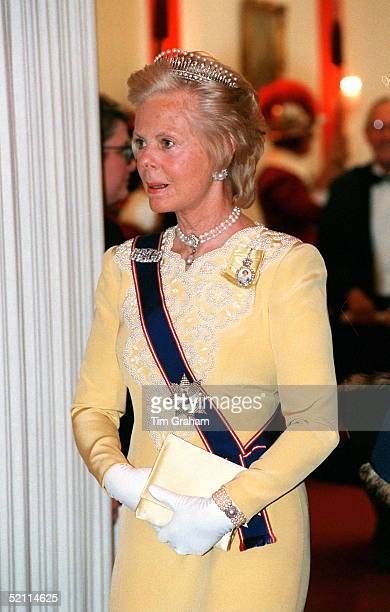 Duchess Of Kent At A Banquet At The Guildhall
