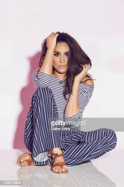 Duchess of Sussex, philanthropist and former actress Meghan Markle is photographed for Reitmans Clothing company on March 24, 2016 in Toronto, Canada.
