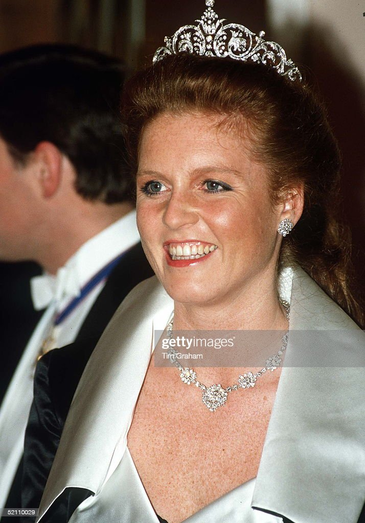 Duchess Of York At Banquet : News Photo