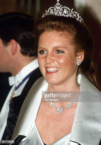 Duchess Of York At A Banquet