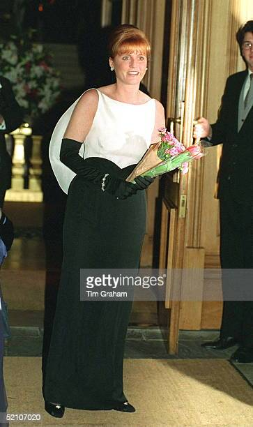 Duchess Of York At The Regent Hotel In London Attending The Born Free Ball.