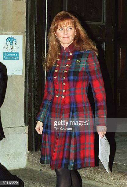 Duchess Of York Attends Christmas Concert At Stgeorges Church London In Aid Of Tommy's Campaign Of Which She Is Patron The Charity Is Dedicated To...
