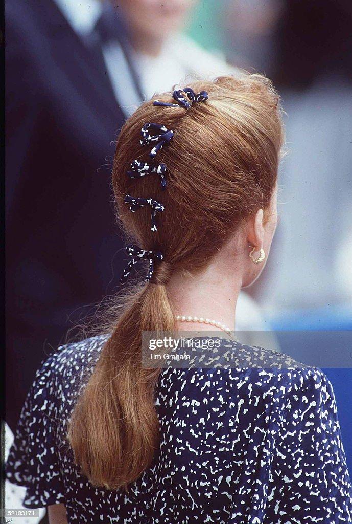 Duchess Of York Hair Styles : News Photo