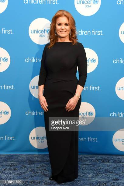 Duchess of York Sarah Ferguson at the 2nd Annual UNICEF Gala 2019 at The RitzCarlton Dallas on February 01 2019 in Dallas Texas