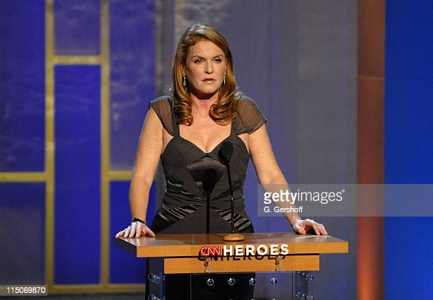 Duchess of York Sarah Ferguson during CNN Heroes An AllStar Tribute a live global broadcast honoring everyday heroes at the American Museum of...