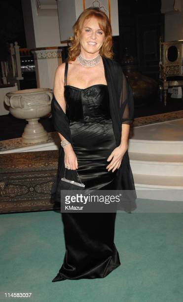 Duchess of York Sarah Ferguson during The 8th Annual White Tie and Tiara Ball to Benefit the Elton John AIDS Foundation in Association with Chopard...