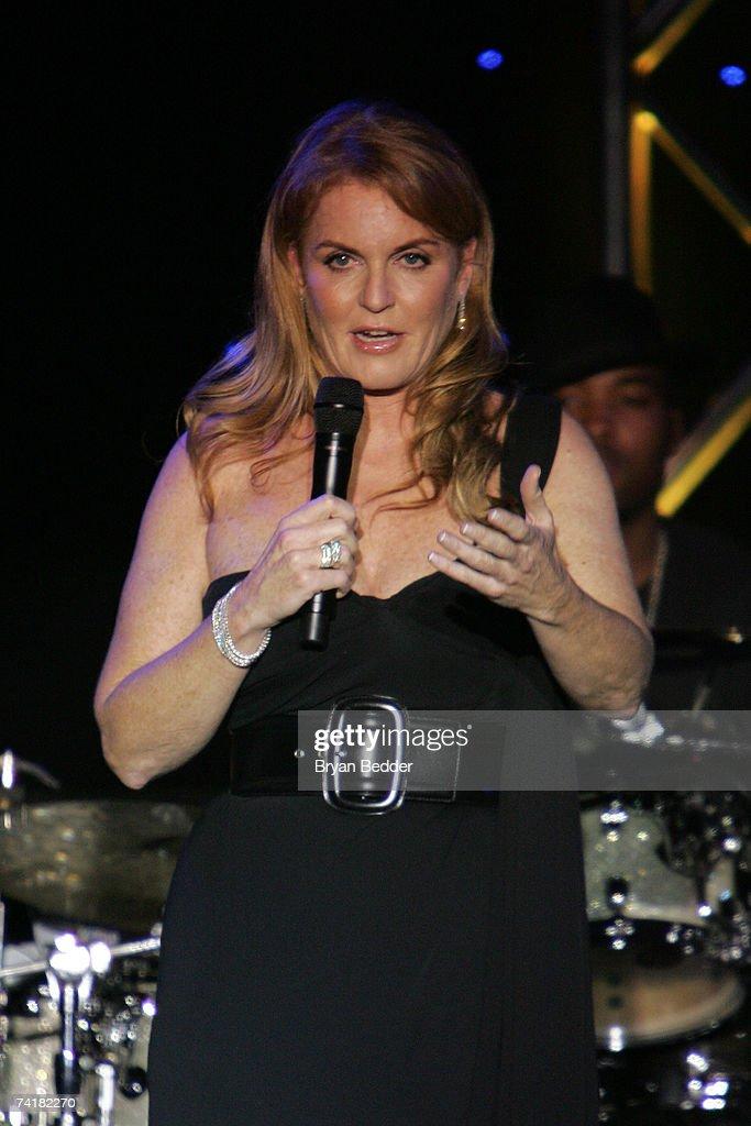 Duchess Of York Sarah Ferguson Speaks Onstage At The 2007