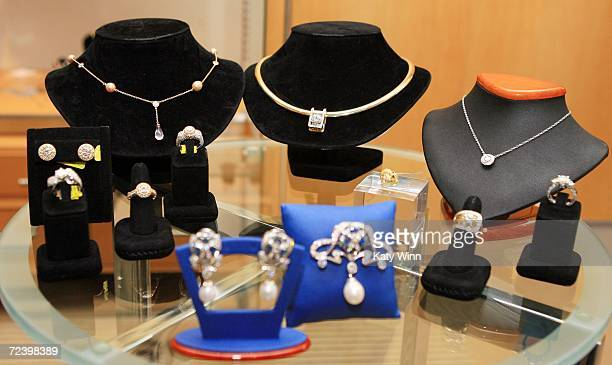 Duchess of York Sarah Ferguson's line of jewelry for KG Creation is debuted on November 3 2006 at Bloomingdales at the Westfield Century Mall in Los...