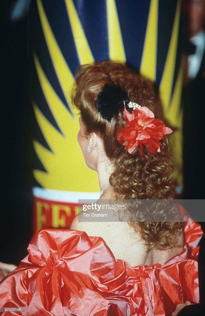 Duchess Of York In Usa : News Photo