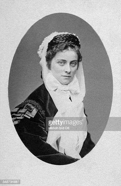 Duchess Sophie Charlotte in Bavaria Germany *2302184704051897 later Duchess of Alencon Portrait 1886 Photographer Josef Albert Vintage property of...