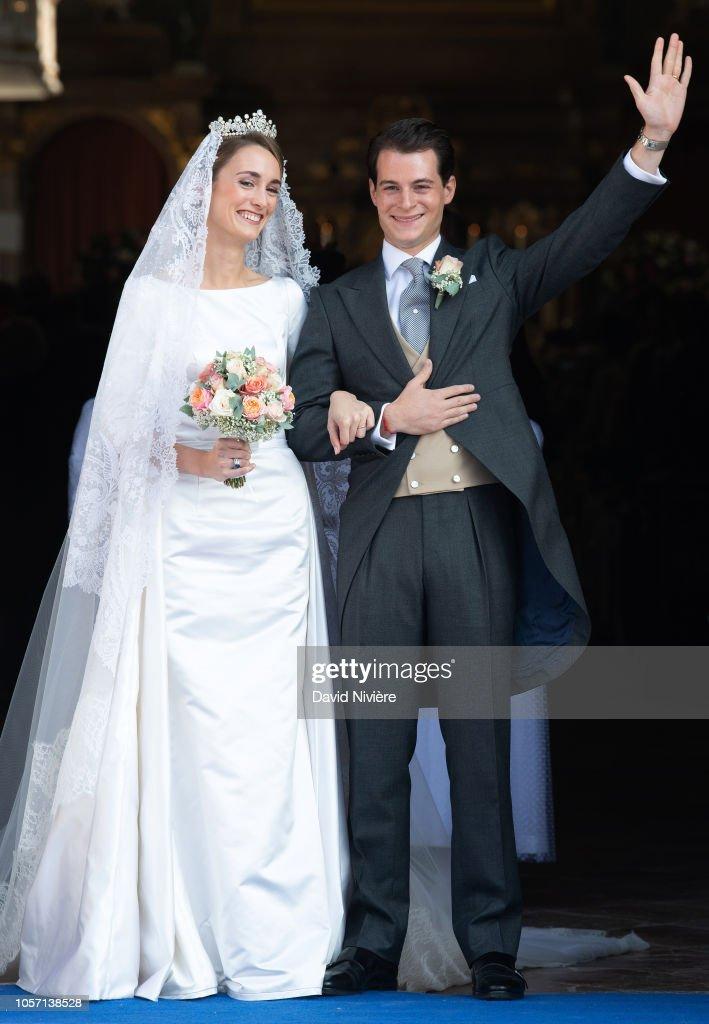 Венчание герцогини Софи Вюртембергской и графа Максимилена д'Андинье