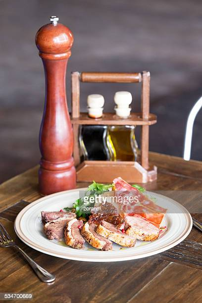 duck fillet - course meal stock pictures, royalty-free photos & images