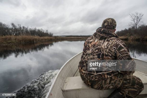 duck hunting on the st. mary's river - camouflage clothing stock pictures, royalty-free photos & images