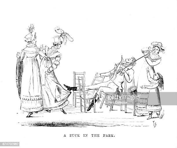 Duck in the Park ', c1870. Attracting over 77 million visitors a year, London's eight Royal Parks, the Royal Parks of London are lands originally...