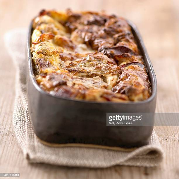 duck magret,walnut and gorgonzola clafoutis - salted stock pictures, royalty-free photos & images