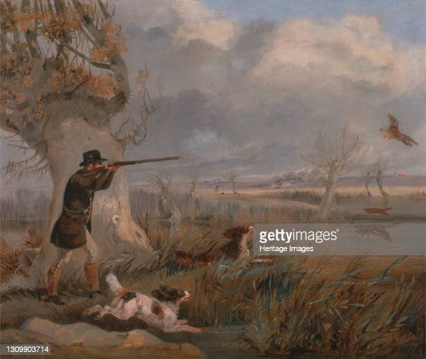 Duck Shooting, ca. 1825. Artist Henry Thomas Alken. .