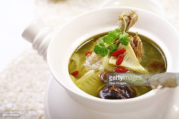Duck Soup With Longan