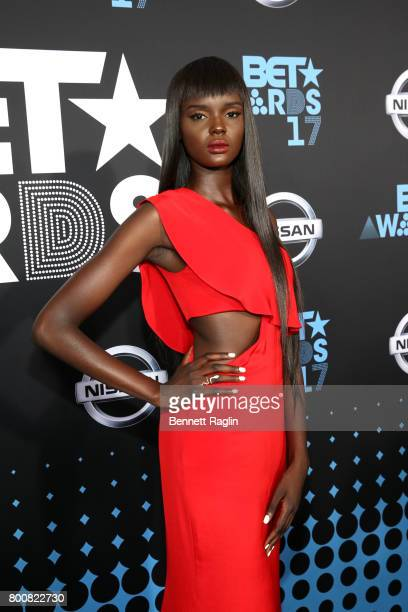 Duckie Thot at the 2017 BET Awards at Staples Center on June 25 2017 in Los Angeles California