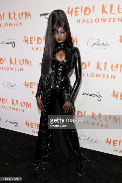 Duckie Thot attends Heidi Klum's 20th Annual Halloween Party presented by Amazon Prime Video and SVEDKA Vodka at Cathédrale New York on October 31...