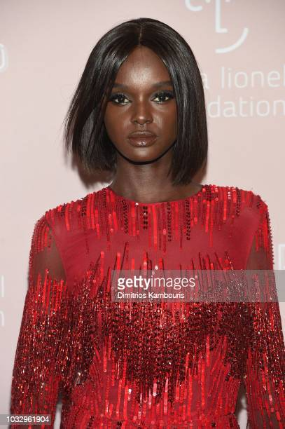 Duckie Thot attends Rihanna's 4th Annual Diamond Ball benefitting The Clara Lionel Foundation at Cipriani Wall Street on September 13 2018 in New...