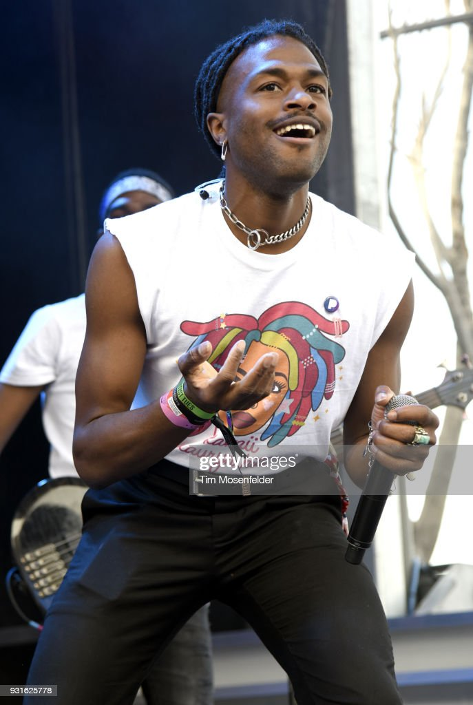 Duckwrth performs during the Pandora showcase at The Gatsby during the South by Southwest Conference and Festivals on March 13, 2018 in Austin, Texas.