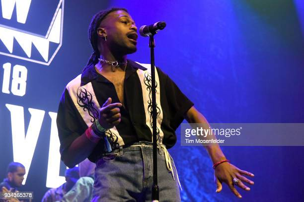 Duckwrth performs during the SXSW Takeover Eardummers Takeover at ACL Live at the Moody Theatre during SXSW 2018 on March 16 2018 in Austin Texas