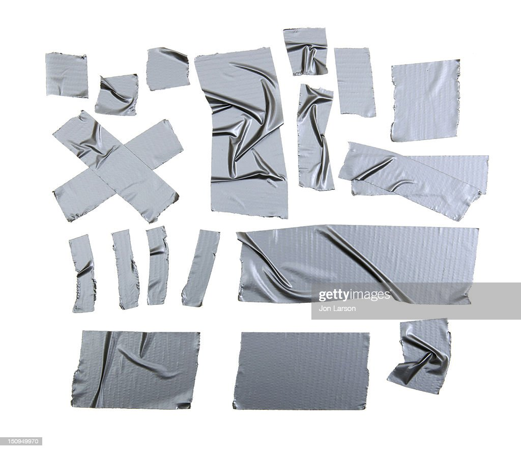 Duct Tape Pieces : Stock Photo