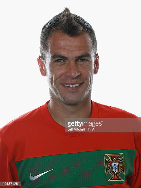 Duda of Portugal poses during the official Fifa World Cup 2010 portrait session at the Valley Lodge on June 7 2010 in Rustenburg South Africa