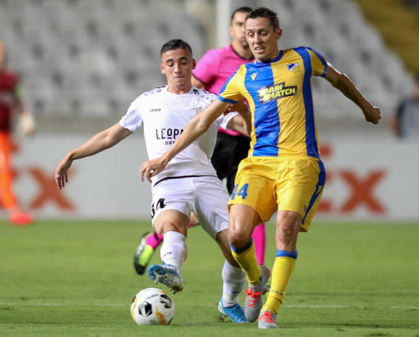 CYP: APOEL Nikosia v F91 Dudelange: Group A - UEFA Europa League
