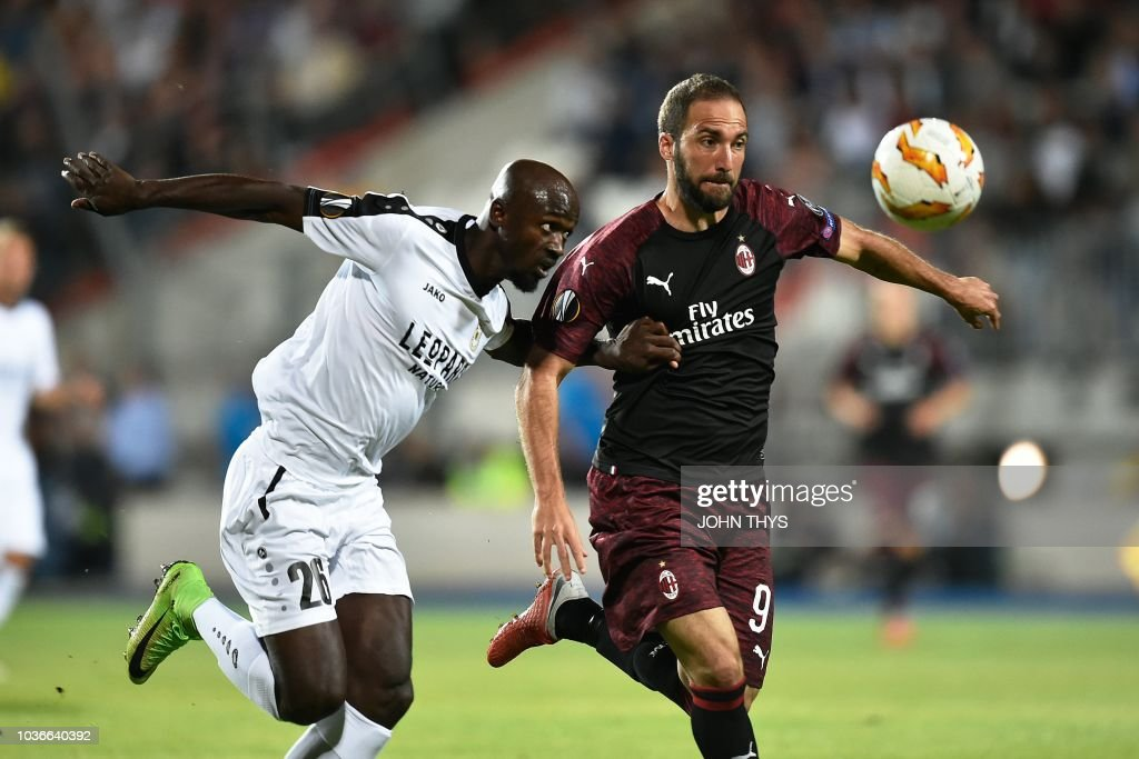 F91 Dudelange v AC Milan - UEFA Europa League - Group F