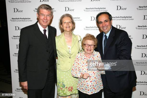 Dudenhausen Ria Dudenhausen Dr Ruth and Dr Frank Chervenak attend The 25th Anniversary New York Presbyterian LyingIn Hospital Fashion Show and...