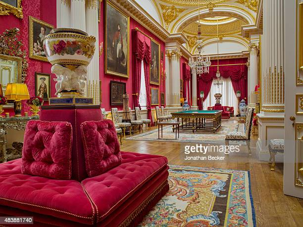 Dudley House owned by Sheikh Hamad bin Abdullah AlThani is photographed for Vanity Fair Magazine on September 3 2014 in London England The 81footlong...