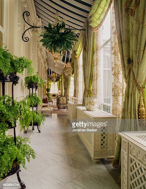 Dudley House owned by Sheikh Hamad bin Abdullah AlThani is photographed for Vanity Fair Magazine on September 3 2014 in London England The...