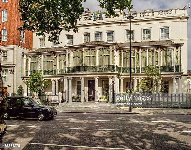 Dudley House owned by Sheikh Hamad bin Abdullah AlThani is photographed for Vanity Fair Magazine on September 3 2014 in London England The restored...