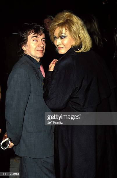 Dudley Moore and Angie Dickinson during Sunset Blvd Los Angeles Premiere in Los Angeles California United States