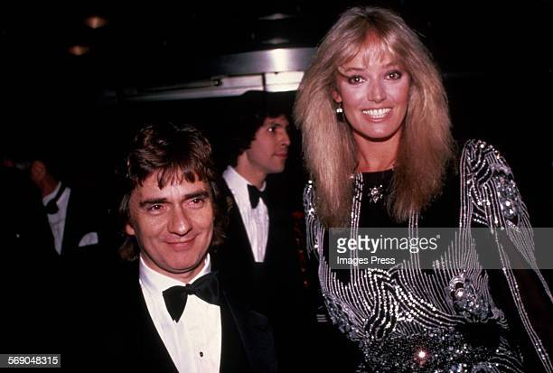 Dudley Moore and Susan Anton circa 1982 in New York City