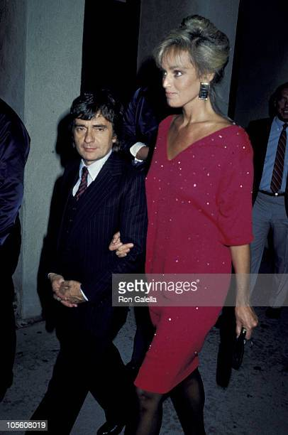 Dudley Moore and Susan Anton during Never Say Never Los Angeles Premiere in Los Angeles California United States