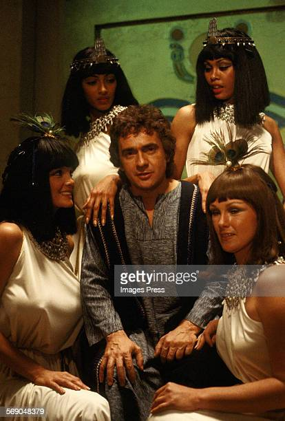 Dudley Moore on the set of Wholly Moses circa 1980 in Burbank California