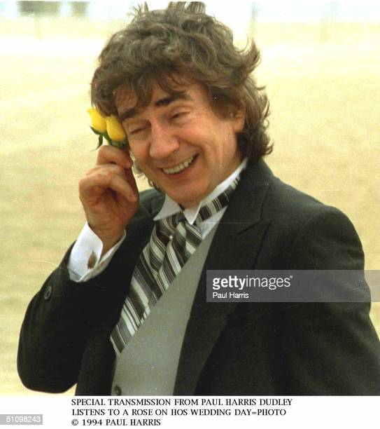 Dudley Moore's Wedding To Nicole Rothschild In Venice California April 16 1994